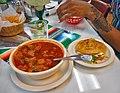 Mexican Beef Tripe Soup and Gordita - Sopa de Mondongo y Gordita.jpg