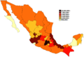 Mexican states by population 2013.png