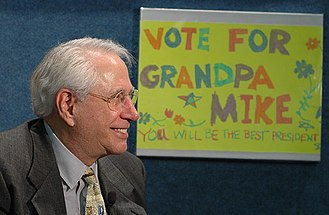United States presidential election, 2008 timeline - Mike Gravel at the launch of his presidential campaign