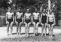 Michał Górski Stanisław Karpiel Bronisław Czech Andrzej Marusarz Jan Bochenek Kraków 1935.jpeg