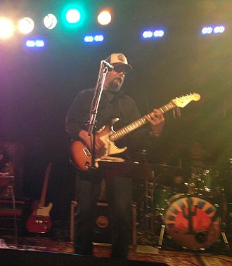 Michael Falzarano - Michael Falzarano performing with the New Riders of the Purple Sage at Bottom Lounge in Chicago on July 3, 2015