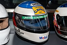 Photo d'un casque de course