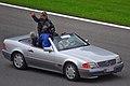 Michael Schumacher 2011 Belgian GP drivers parade (18050468706).jpg