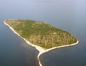 Luftbild vom Westen aus