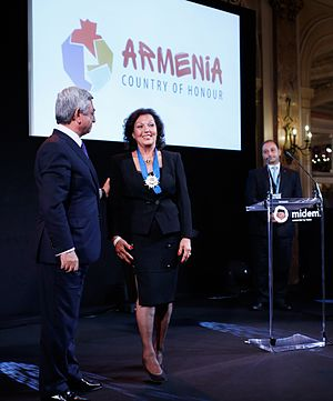 Rosy Armen - Image: Midem 2015