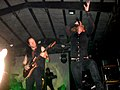Mikael Stanne & Niklas Sundin (Dark Tranquillity live in Bologna 2010).JPG