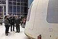 Mike Pence and New Shepard capsule 02.jpg