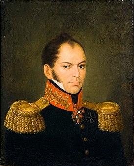 портрет работы неизвестного художника, 1820-е гг.