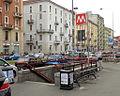 Milano metropolitana Gorla scala.JPG