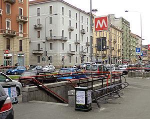 Gorla (Milan Metro) - Image: Milano metropolitana Gorla scala