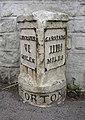 Milestone, Preston Lancaster Road, Forton - geograph.org.uk - 436408.jpg