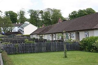 Annsborough village in United Kingdom