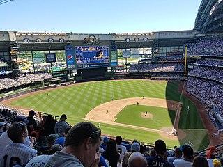 American Family Field Baseball stadium in Milwaukee, WI, US