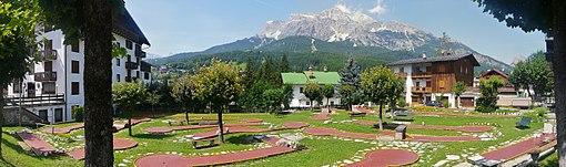 Mini golf in Cortina d'Ampezzo