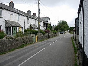 Minions, Cornwall - Image: Minions geograph.org.uk 222293