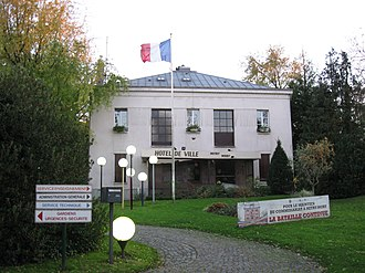 Mitry-Mory - The town Hall of Mitry-Mory