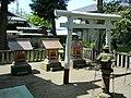 Mitsumine, Suwa and Itsukushima Shrines (三峯社/諏訪神社/厳島社) in Kamisoshigaya Shimmei Shrine (上祖師谷神明社) - panoramio.jpg