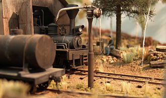 O scale - Australian O scale model railway
