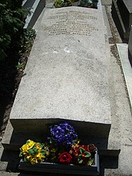 Tomb of Amedeo Modigliani and Jeanne Hébuterne