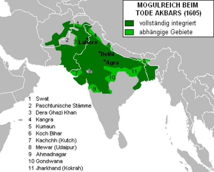 Archivo: Imperio mogol Akbar.png