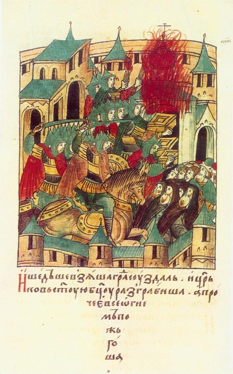 Mongols suzdal