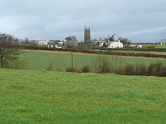 Monkleigh - Image: Monkleigh across the fields geograph.org.uk 667182