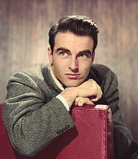 Montgomery Clift American actor