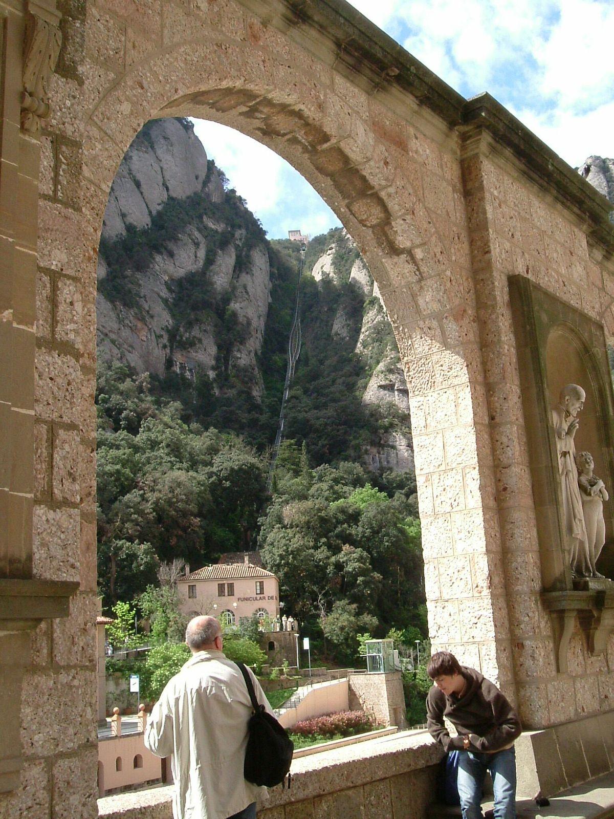 Mountain Car >> Sant Joan Funicular - Wikipedia