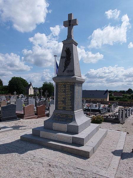 Monuments aux morts de Romagny