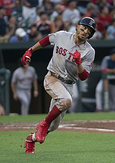 Mookie Betts American baseball player