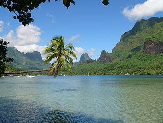 Polynesia - Cook's Bay on Moorea, French Polynesia