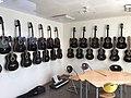 Morgan hand-crafted guitars at Sagvåg skule primary school in Stord, Norway, photo 2018-03-06 IMG 5673.jpg