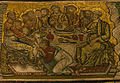Mosaici del battistero, maria e gesù 11 ultima cena.jpg