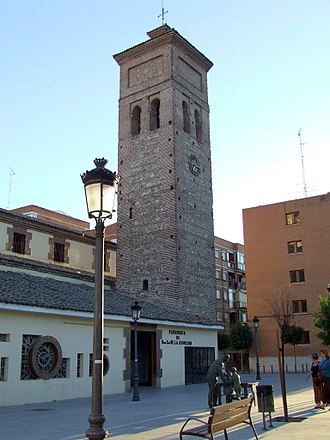 Móstoles - Church of the Assumption, Móstoles' oldest building