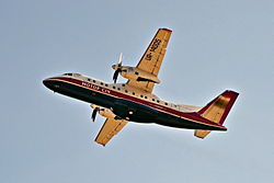 Motor Sich Airlines Antonov An-140 at PRG.JPG