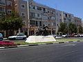 Motorcyclist-angel Haim-Ozer street Petah-Tikva.jpg