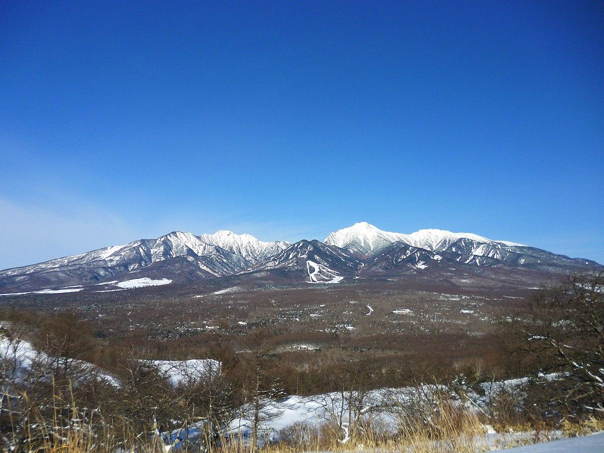Yatsugatake Mountains Wikipedia