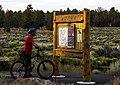 Mountain biking at Cline Buttes (30153753660).jpg