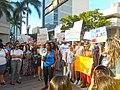 Moveon.org Anti Trump Family Separation Protests - Miami Dade College, Miami Florida 01.jpg
