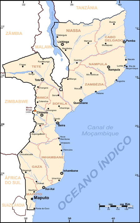 Water supply and sanitation in Mozambique - Wikipedia