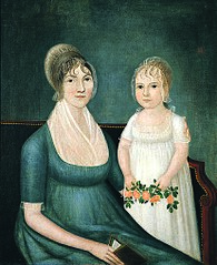 Mrs. Benjamin Franklin Yoe & Daughter Mrs. Mary Elizabeth