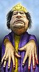 Muammar Gaddafi, Zombie Dictator (5486123042).jpg