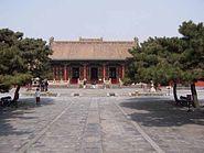 Mukden palace Chongzheng Hall 01