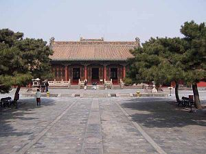 Qing dynasty in Inner Asia - Chongzheng Hall of Mukden Palace