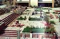 Multi-level Courtyard Under Construction - Convention Centre Complex - Science City - Calcutta 1996-02-21 1000.JPG