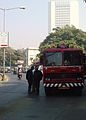 Mumbai Fire brigade Fire Engine Front View (with RBI building in background).jpg