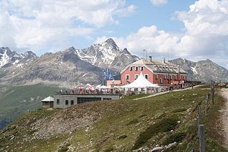 Muottas Muragl mountain