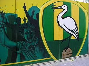 ADO Den Haag - Mural in the new ADO stadium