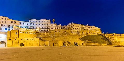 Muralla Tanger Marruecos DD HDR