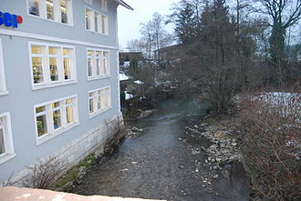 Wynau - The Murg river in Wynau